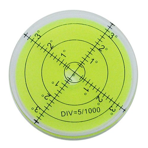 60*12 mm Bubble Degree Marked Surface Leveling for Camera Ttripod Furniture Toy Level Measuring Instruments