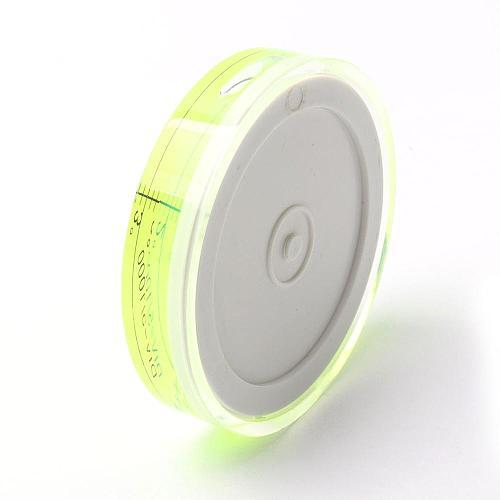 60x12mm Bullseye Spirit Level Bubble Degree Marked Surface Level for Camera Ttripod Furniture Toy Level Measuring Instruments