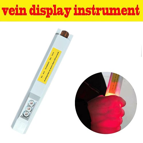 Dreamburgh New Rechargeable LED Vein Viewer Angiography Instrument IV Vein Detector Display Imaging Medical Vein Finder EU Plug
