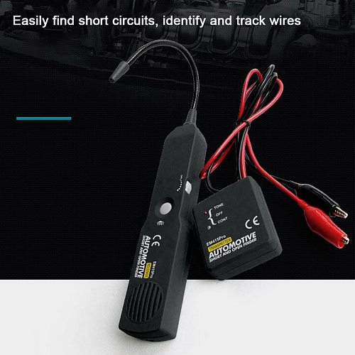 Car Circuit Scanner Digital Diagnostic Tool Automotive Short And Open Finder Cable Tracker Truck Tractor Ship SUV Wire Tester