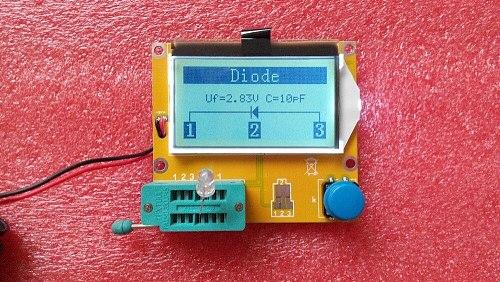 MG328 Transistor Tester Capacitor ESR Inductance Resistor Meter NPN PNP Mosfet