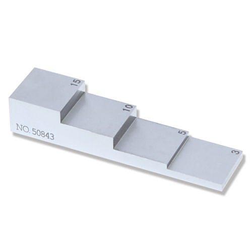 4 step 3  5 10 15mm 1018 Steel  Step Wedge UT Calibration test block