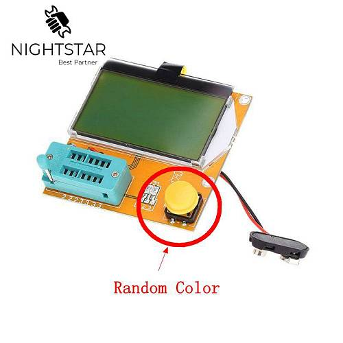 LCR-T4 ESR Meter Transistor Tester Diode Triode Capacitance SCR Inductance Mega328 Diode Triode Capacitance 128x64 LCD
