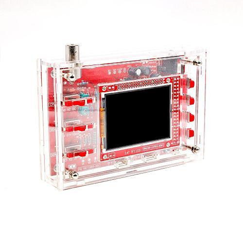 Soldered DSO FNIRSI-138 2.4  TFT Handheld Pocket-size Digital Oscilloscope Kit SMD Soldered + Acrylic DIY Case Cover Shell