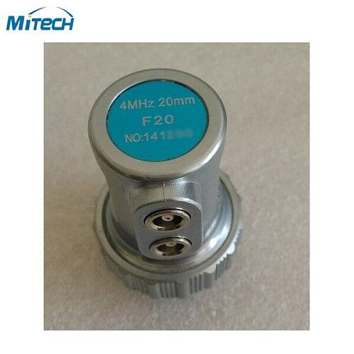 F20 4MHz 20mm Dual Straight Beam Probe Transducer