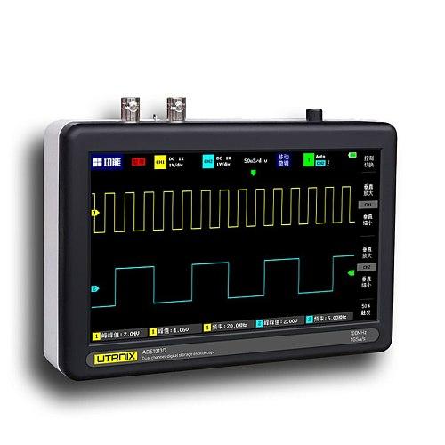 100MS/s MINI Nano1013D Professional Portable Digital Oscilloscope Digital Probe Digital Tablet Oscilloscope