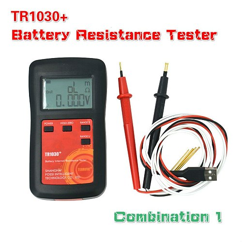 Upgrade YR1030 Lithium Battery Internal Resistance Test TR1030 Electrical DIY 18650 Nickel Hydride Button Dry Battery Tester C1