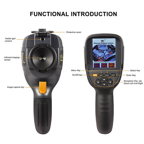 Handheld IR Thermal Imaging Camera Digital Display HT-19 high Infrared Image Resolution Thermal Imager