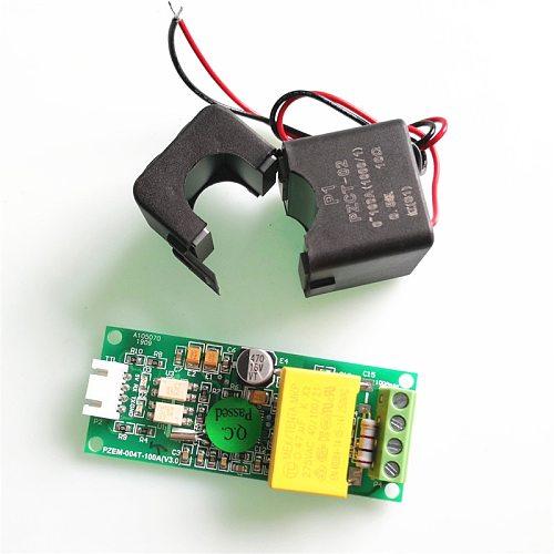 PZEM-004T 3.0 Version AC Single Phase Multifunction Ampere Meter Watt Power Volt Amp Kwh TTL Modbus With Split CT For Arduino