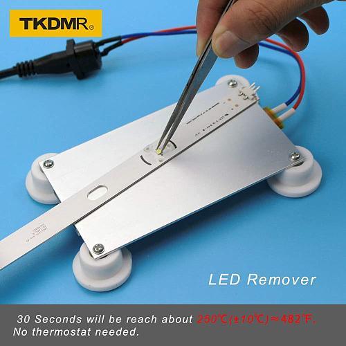 TKDMR 300W Aluminum LED Remover PTC Heating Plate Soldering Chip Remove Weld BGA Solder Ball Station Split Plate