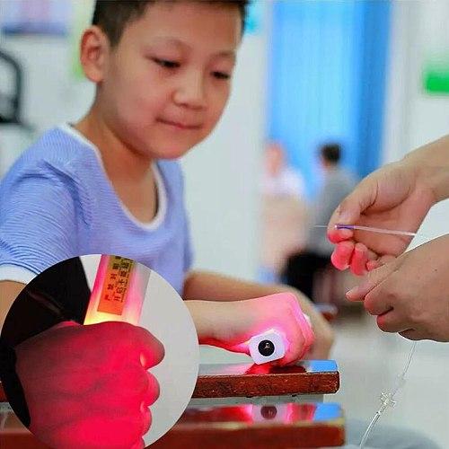 New Infrared Vascular IV Vein Detector Handheld Angiography Instrument Vein Display Imaging Medical Vein Finder EU Plug