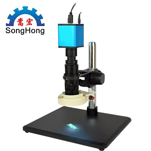 Automatic Focusing Microscope HDMI High Definition High Speed Electronic Video Measurement for 14 million Industrial Electronic
