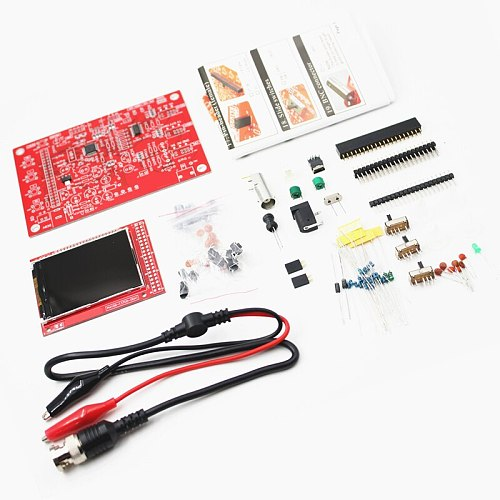 DSO FNIRSI-138 2.4  TFT Handheld Pocket-size Digital Oscilloscope Kit DIY Parts for Oscilloscope Electronic Learning Set