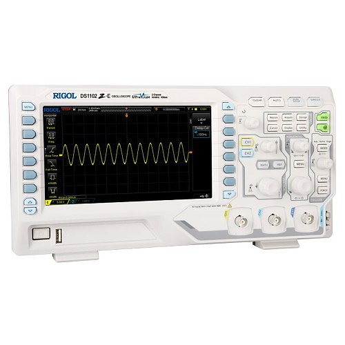 RIGOL DS1102Z-E 100MHz Digital Oscilloscope 2 analog channels