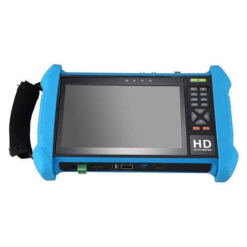 HHO-7 Inch Press Screen IP Camera Tester CVI AHD TVI HDMl Output POE Test 4K 1080P CCTV Monitor 8GB Camera Tester