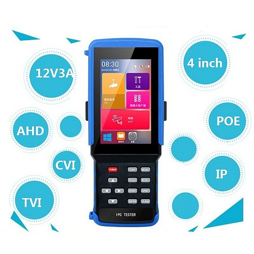 IPC 9310S Wifi 5 In One Touchscreen Video Surveillance Tester CCTV Tester for IP/AHD/TVI/CVI/CCTV Network Cable Tester