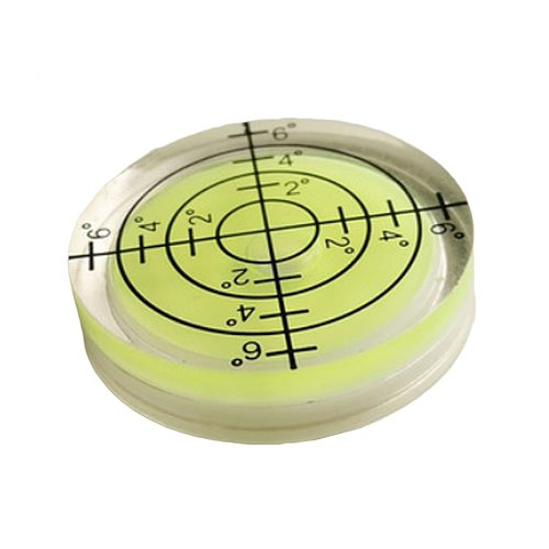 High  quality 1pcs 32*7MM White Green Blue Color Bubble level Round Level Bubble Accessories for Measuring Instrument
