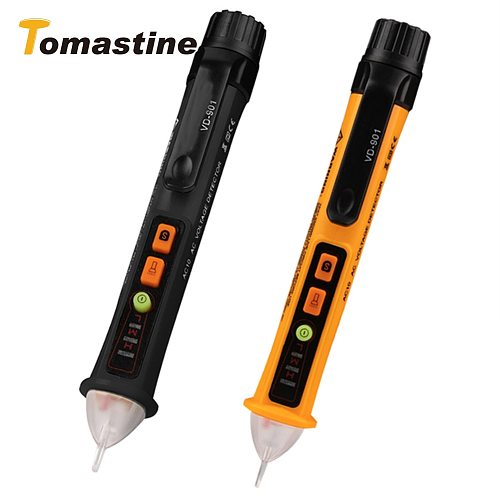 New VD901 Non-Contact AC Voltage Tester 12-1000V AC Current Voltage Detector Auto Power Off Electrical Test Pencil