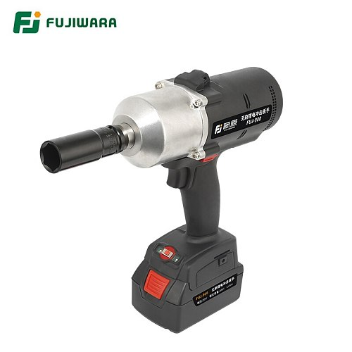 FUJIWARA 900N.M 1/2   Electric Wrench 20V Lithium Battery Rechargeable High Torque Brushless Cordless Impact Wrench