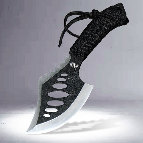 PEGASI 09 multi-function sharp tactical axe hunting and rescue axe multi-function straight knife easy to carry the kitchen knif
