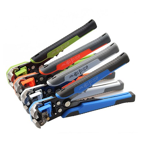 wire stripper HS-D1 Crimper Cable Cutter Automatic Wire Stripper Multifunctional Stripping Tools Crimping Pliers Terminal tool