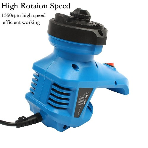 220V Electric Drill Bit Sharpener EU Plug High Speed Drill Grinder Machine Twist Drill Driver 95W 1350rpm For Drill Size 3-12mm