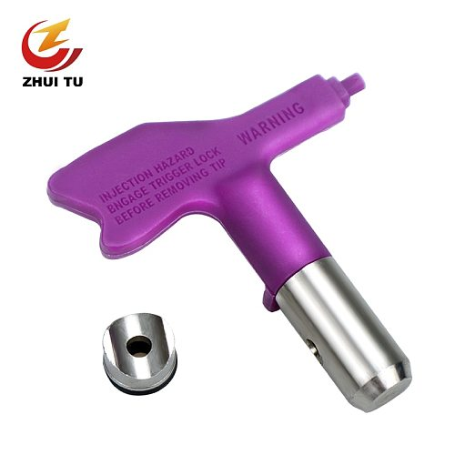 Spray paint latex paint putty high pressure airless sprayer nozzle airless spray gun nozzle suitable for Titan Wagner