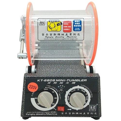 3 kg Drum Polishing Machine, Jewelry Rotary Tumbler, Tumbling Mini-Tumbler Rotary Tumbler Polishing Machine Jewelry Polisher