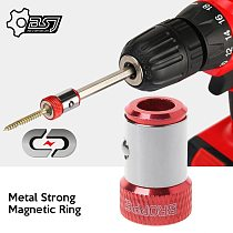 2020 1/4  6.35mm Metal Strong Magnetic Ring Magnetizer Screw Electric Phillips Screwdriver Bits /Color Random