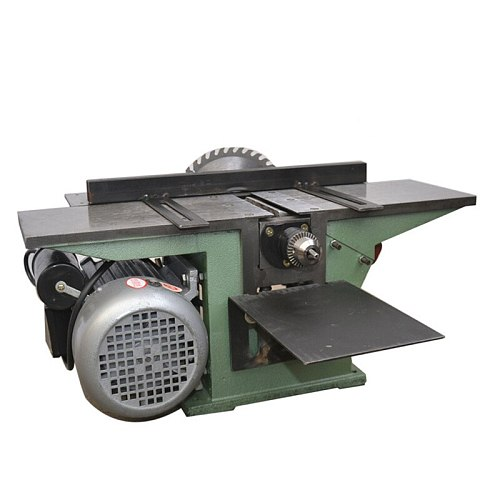 Woodworking Planing Table Saw Multifunction Desktop Planer Drilling Machine Plane Saw Drill Triple With Backing Electric Planer