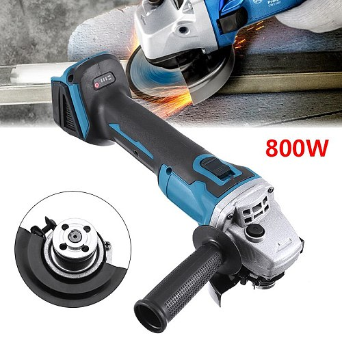 Multi-function Polisher For Battery 18V 800W 100mm Brushless Angle Grinder Power Tools Polishing Machine Without Battery