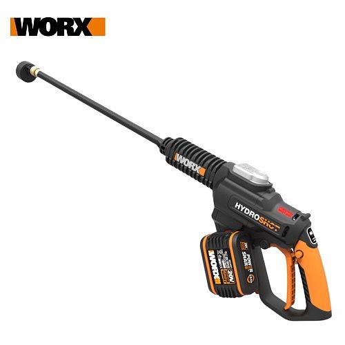 Worx 20V Hydroshot WG630E Brushless High Pressure & flow Car Washer Rechargeable Cordless Car Washing Portable Wireless Washer