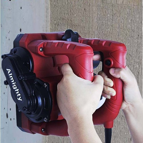 No dead angle shovel wall dust-free electric planer old wall renovation putty wall skin shovel power tool (Cement cutter head)