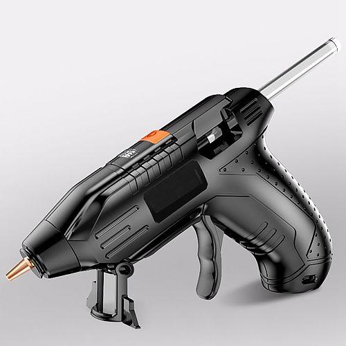 3.6V Lithium-ion Hot Melt Glue Gun with 100/40/10pcs 7mm Sticks Wireless Graft Repair Heat Gun Pneumatic Home DIY Hot Glue Gun