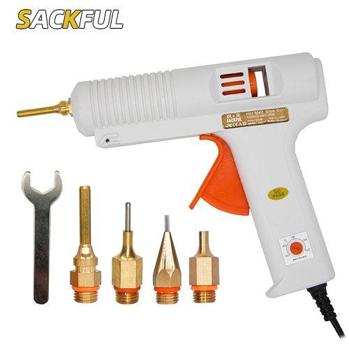 220v 150w Hot Melt Glue Gun Long Glue Gun Nozzle Diameter 1mm 1.3mm Industrial Glue Gun DIY Craft Repair Tools Glue Gun