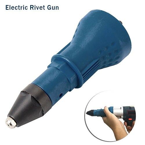 Electric Rivet Nut Gun Riveting Tool Drill Adaptor Transfer Core Insert Nut Cordless Pulling for Nail Gun Auto Multifunction