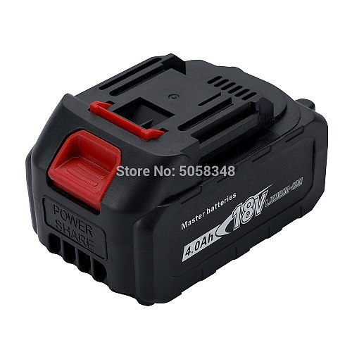 compatiable 18V 4000 mAh battery pack for rechargeable cordless tool(without  charger)