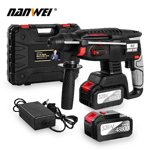 Strong power hammer drill cordless drill hammer on sale
