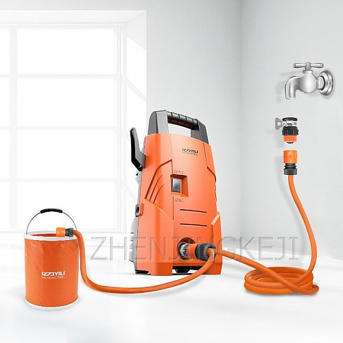 High Pressure Washer Home High-pressure Car Washer Fully Automatic Washing Machine Portable Car Wash Pump Garden Cleaning Tools