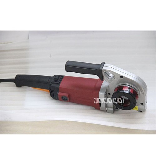 GMTE-02 Handheld Electric Pipe Threader Thread Processing Tool Threading Machine Pipe Threading Machine 110V/220V 1400W 24r/min
