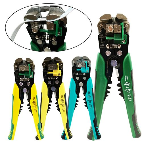 Crimper Cable Cutter Automatic Wire Stripper Multifunctional Stripping Tools Crimping Pliers Terminal 0.2-6.0mm2 tool
