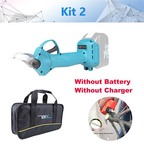 Mikita 18V Cordless Pruner Shear Brushless Motor match Makita battery Fit Fruit manor Wineries