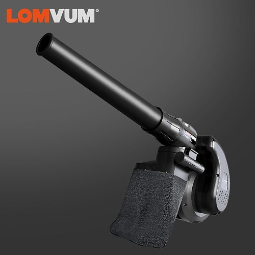 LOMVUM Electric Air Blower 1800W Powerful Dust Collector Computer Cleaning Dust Blowing