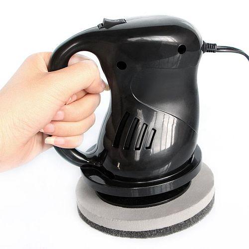 Mini DC12V 40W Car Polishing Machine Waxing Machine Electric Gloss Paint Power Scratch Remove Beauty Care Repair Polisher Black
