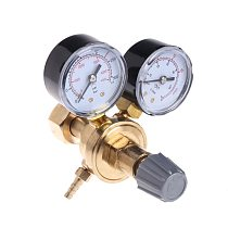 OOTDTY Argon CO2 Gauges Pressure Reducer Mig Flow Meter Control Valve Welding Regulator A5YD