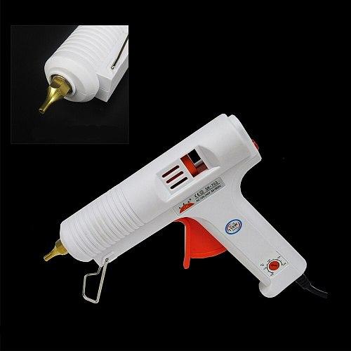 110W Hot Melt Glue Gun Adjustable High Temperature Glue Gun Graft Repair Tool Heat Gun AC110-240V For 11mm Glue Stick