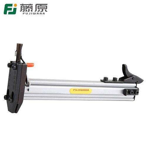Manual Steel Nail Gun FUJIWARA Semi Automatic Cement Nail Gun Wire Slot Nailing Device Nailing Machine