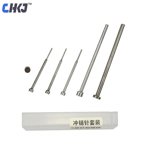 CHKJ 6pcs/lot Auto Car Remote Key Pin Removal Pin Disassembly Tool Set Needle Pin Remover Nail Locksmith Repair Tools