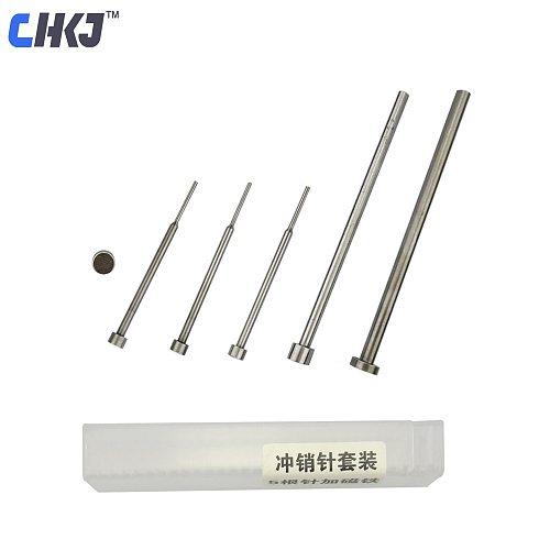 CHKJ 6pcs/lot Auto Car Remote Key Pin Removal Pin Disassembly Tool Set Needle Pin Remover Nail Locksmith Repair Tools
