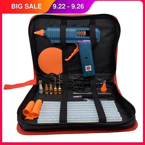 Hot Glue Gun Tool Kit Temperature Adjustment 150W  For Crafts Repair Tool Profes DIY Use 11mm Glue Sticks Pure Copper Nozzle